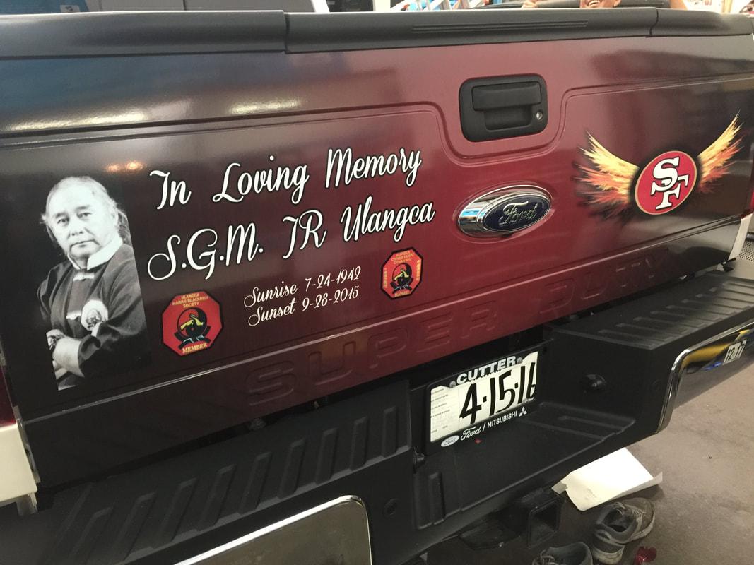 Vehicle Wraps - King's Kustom Tinting llc